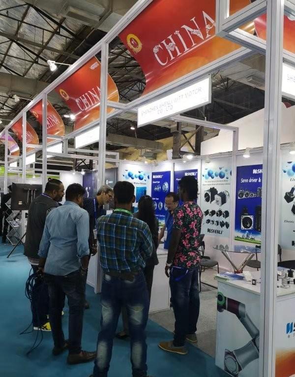 申力步进电机参展印度孟买工业展览会2