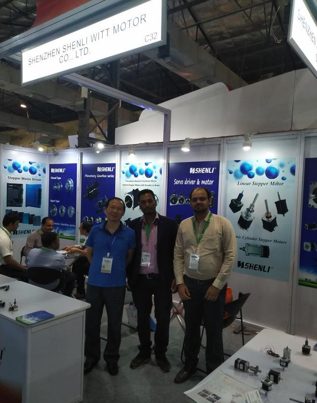 申力步进电机参展印度孟买工业展览会