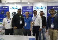 申力微特亮相2019年印度孟买工业自动化展览会