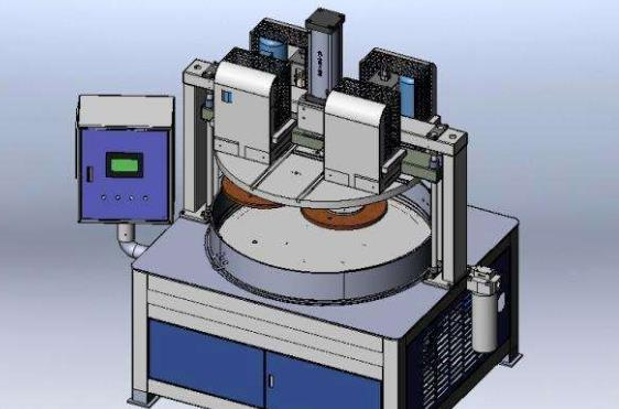 行星减速机 扫光机应用